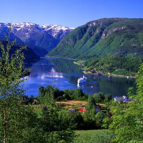 Walking holiday through Norway's Hardangerfjord fjord