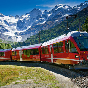 Green Traveller's Grand Train Tour of Switzerland