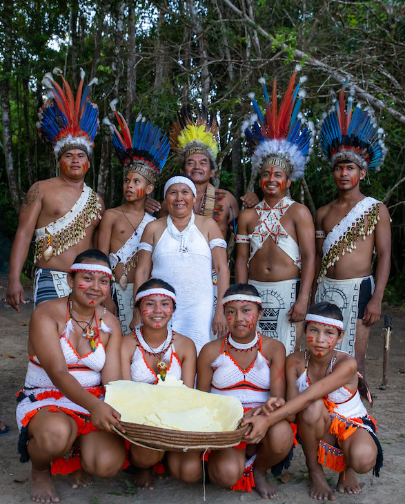 Indigenous people in Surama