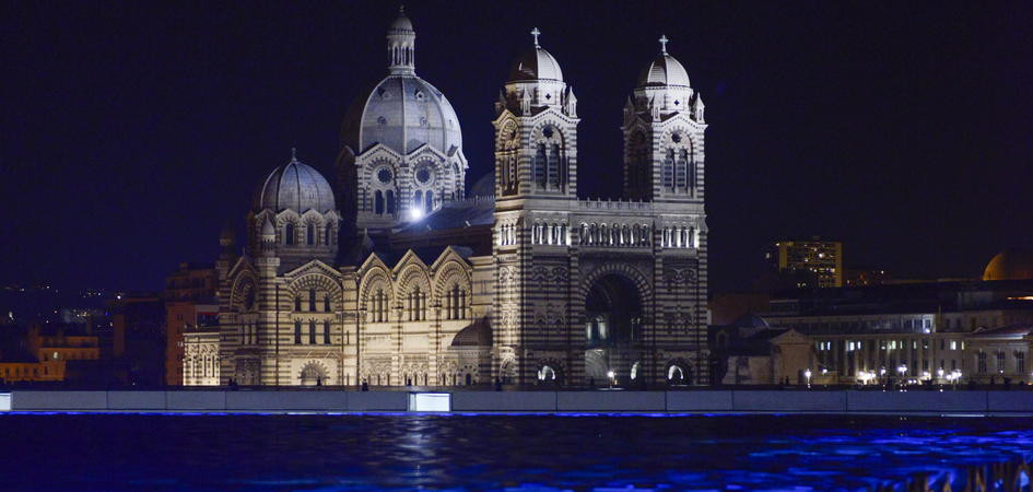 Marseille's Bouches du Rhone by architect Rudy Ricciotti