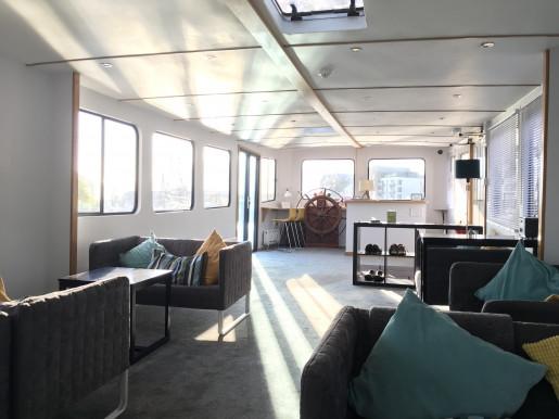 Kyle Blue, Bristol's new floating hostel