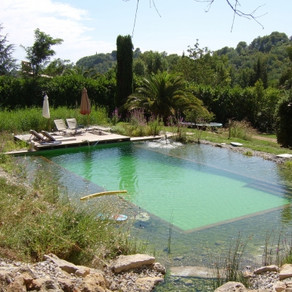 Hotels with natural swimming pools in the UK, France, Spain and Italy