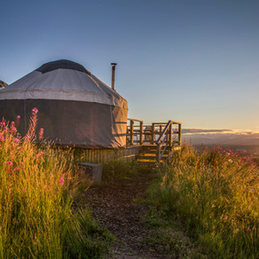 New luxury campsite opens in the Ochils, Scotland