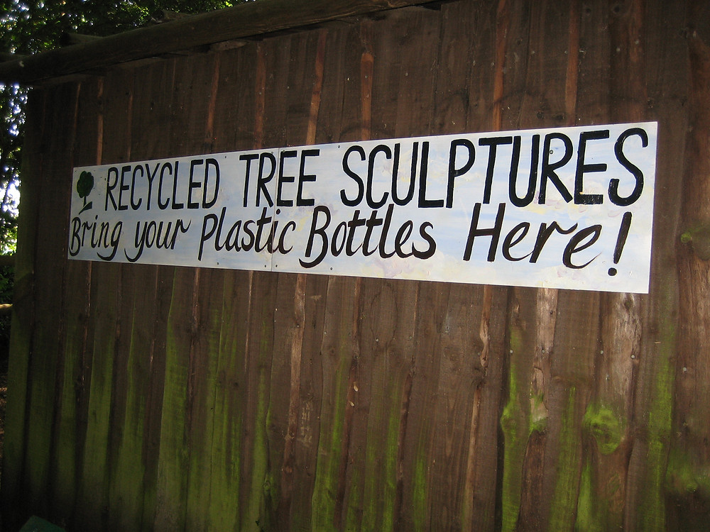 Creative recycling at Bestival.