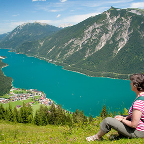 A walking holiday at Lake Achensee and its Mountains, Austria