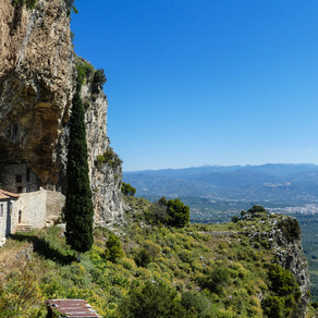 Ancient tour of the Peloponnese, Greece