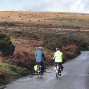The Dartmoor Way by electric bike