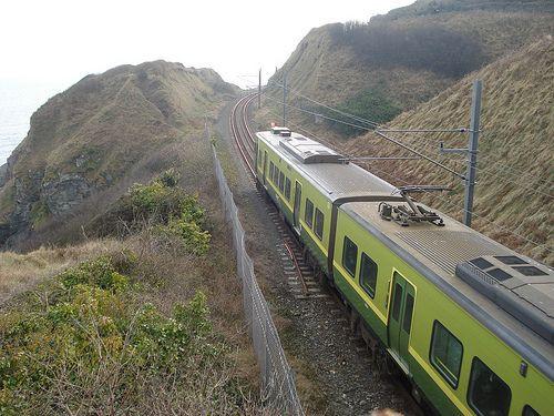 Train from Bray to Greystones
