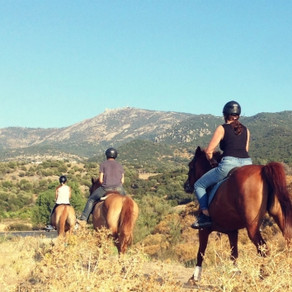 Exploring the great outdoors on Lesvos, Greece