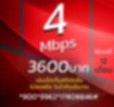 โปรเน็ตทรูมาราธอน 4Mbps 3600บาท.JPG