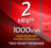 โปรเน็ตทรูมาราธอน 2Mbps 1000บาท.JPG