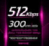 โปรเน็ตทรูรายเดือน 512Kbps 300บาท.JPG