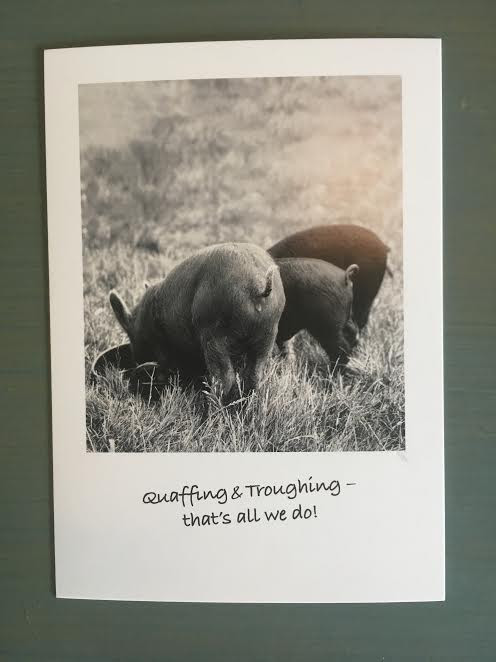Card from The Pig
