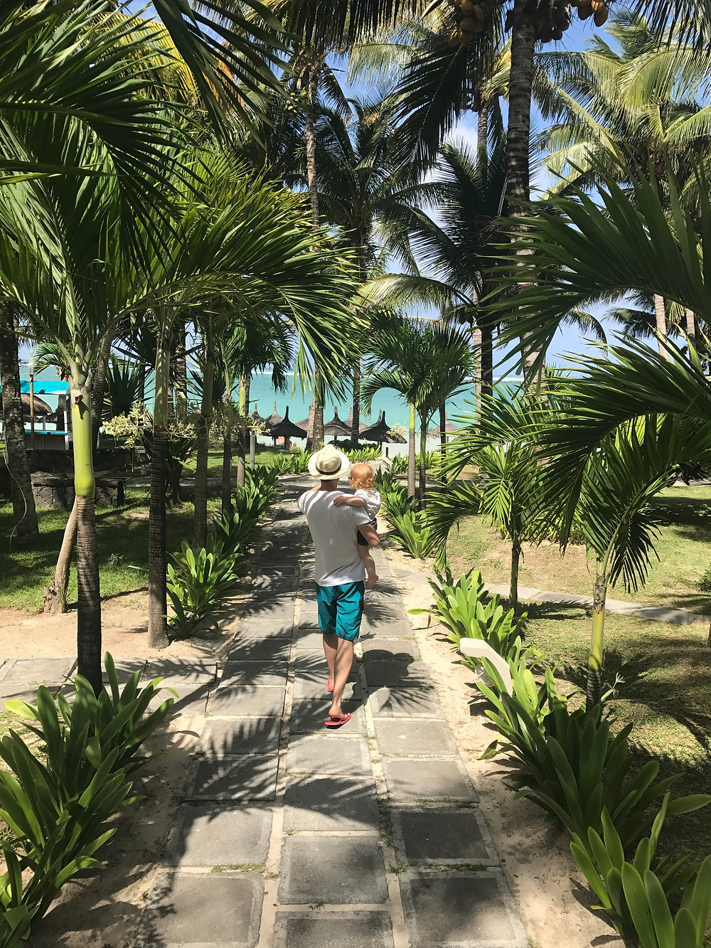 Palm trees, beaches and sunshine in Mauritius