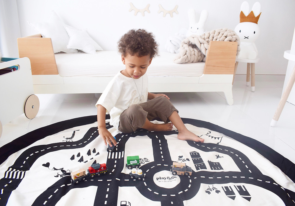 Play & Go roadmap playmat and storage bag