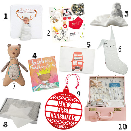 CHRISTMAS GIFT GUIDE: First Christmas