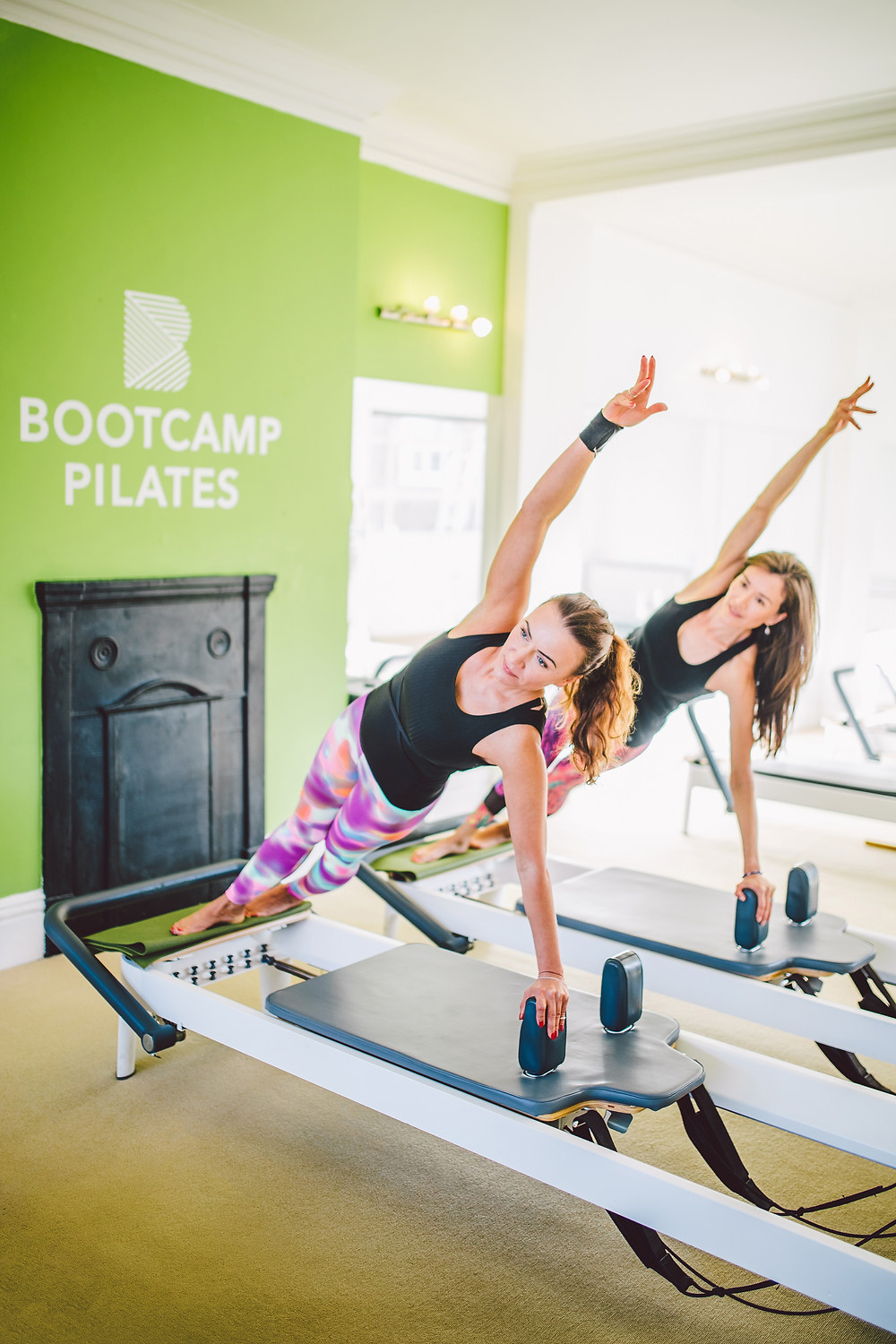 Workout on the Reformer Pilates machines