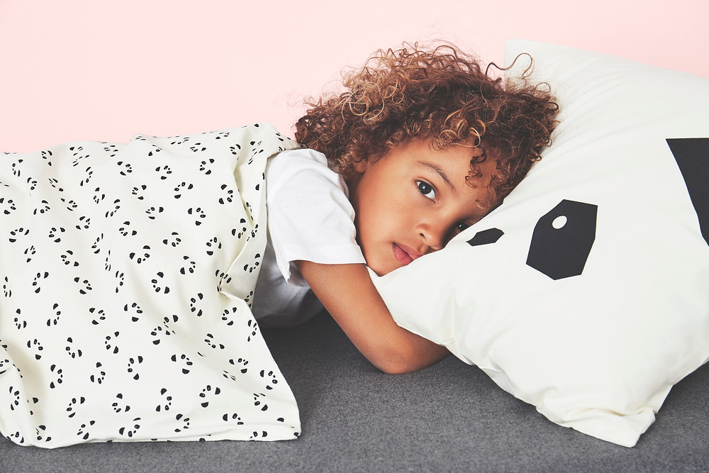 Liewood panda bedding set