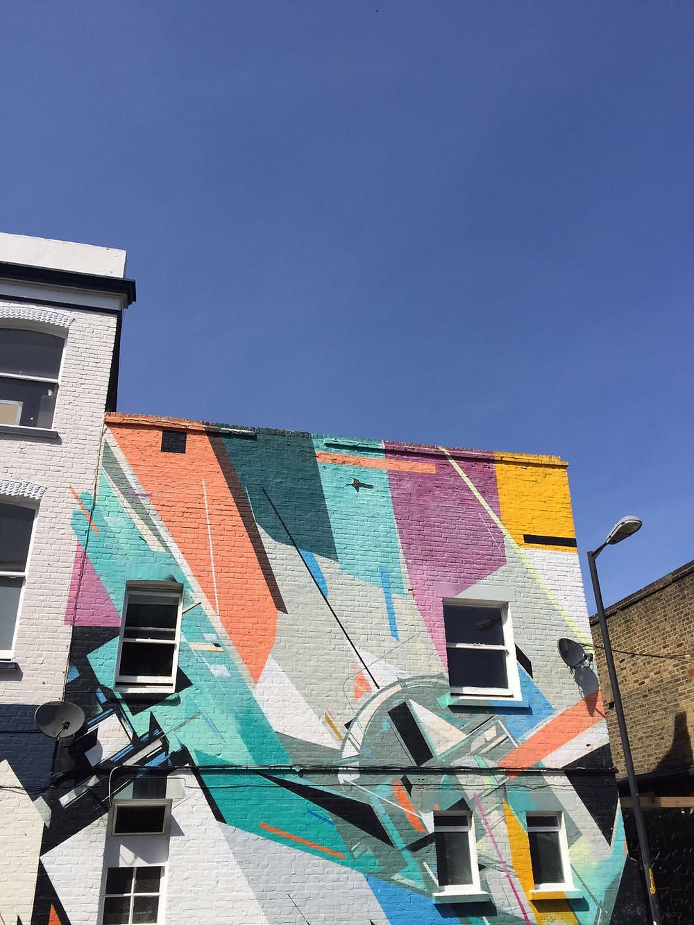 street art, house, east dulwich