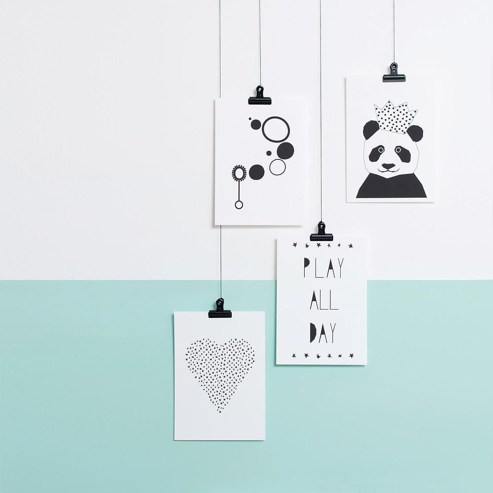 Selection of Ingrid Petrie Design prints