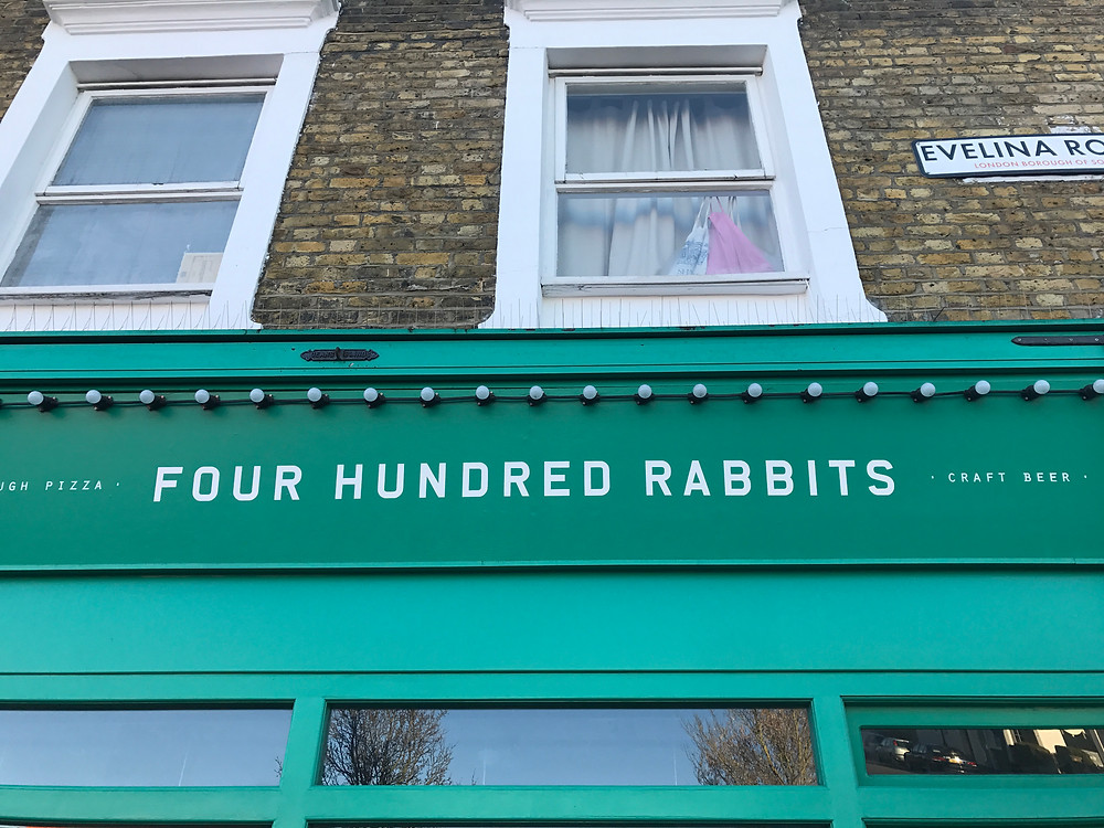 four hundred rabbits restaurant