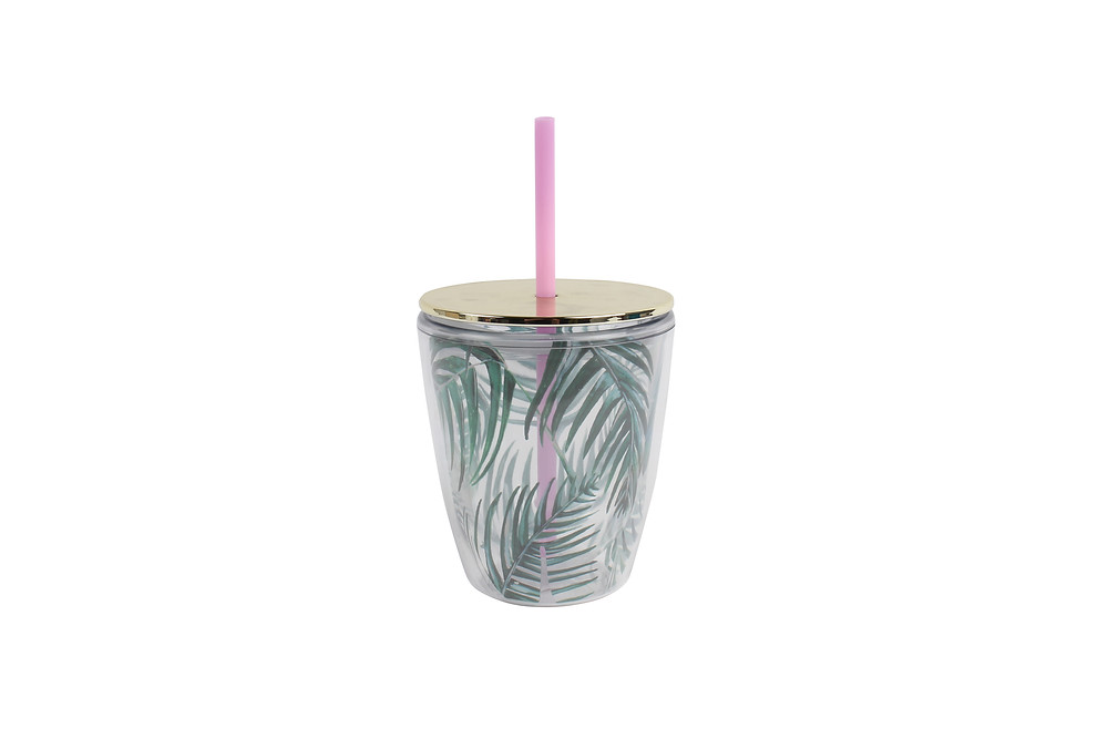 Paperchase Palm Print Cup