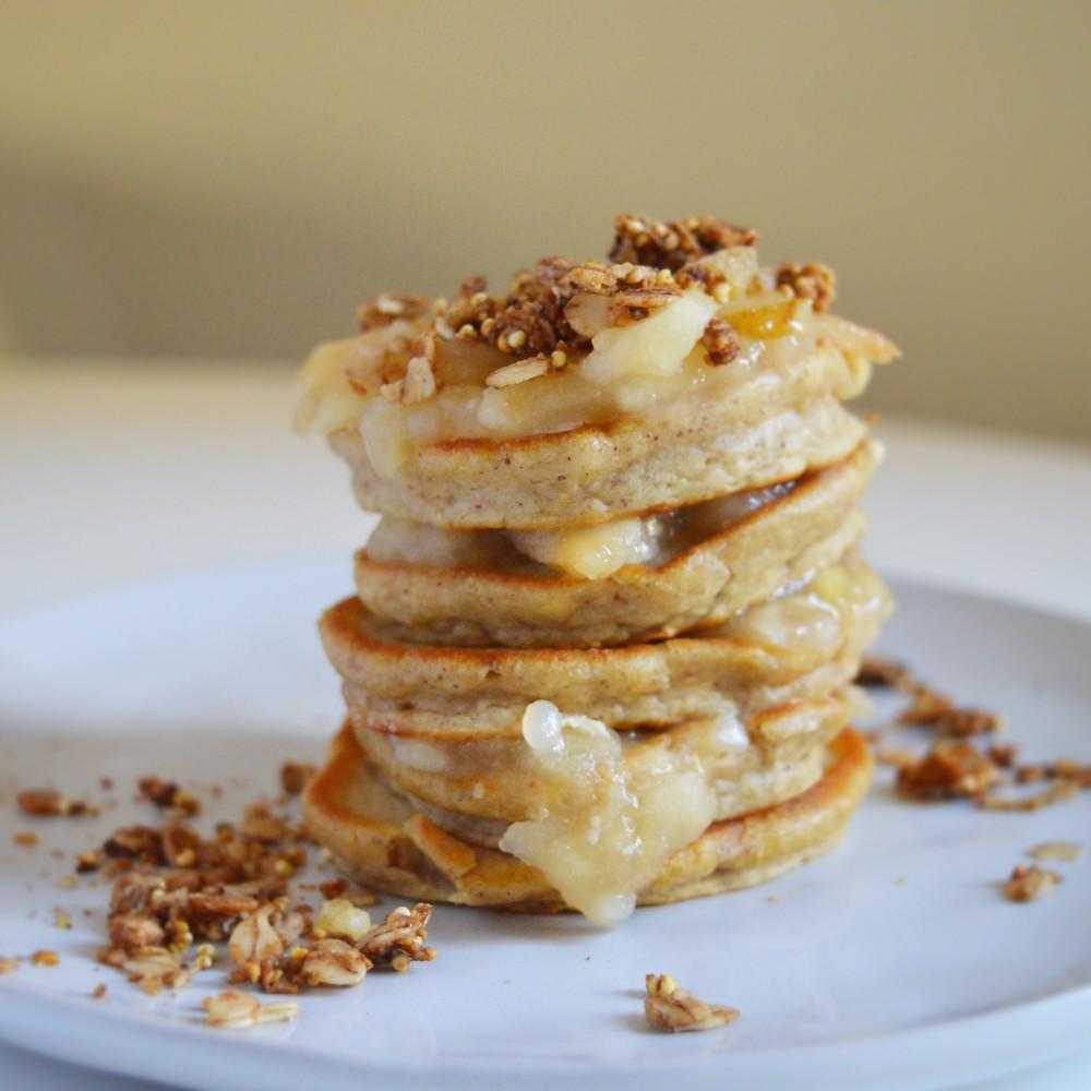Danae Dade's Nut Butter Fluffy Vegan Pancakes