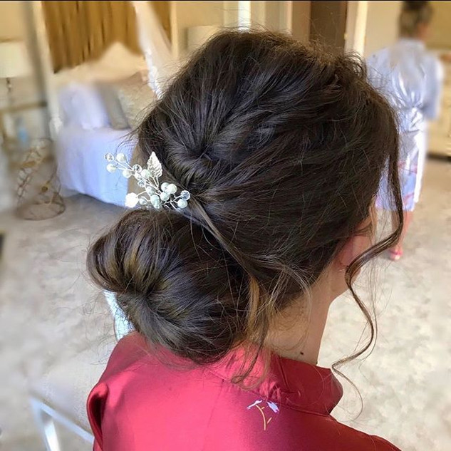 Bridesmaid no.2.jpg #inspiration #bridal #updos