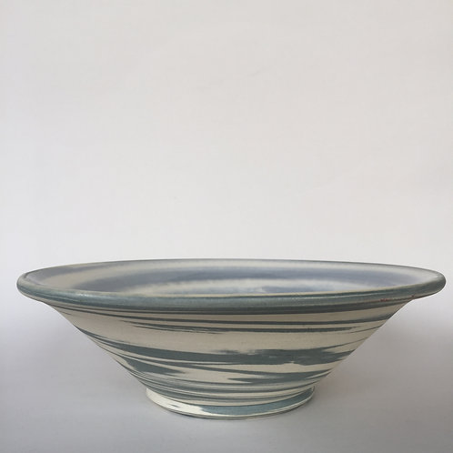 Blue & White Agate-ware Bowl