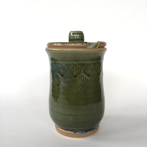 Green Honey Pot