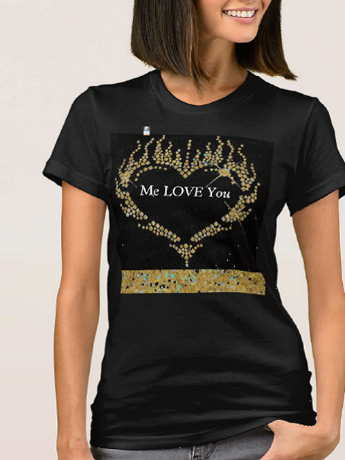 "T-Shirt ""Me Love You"""