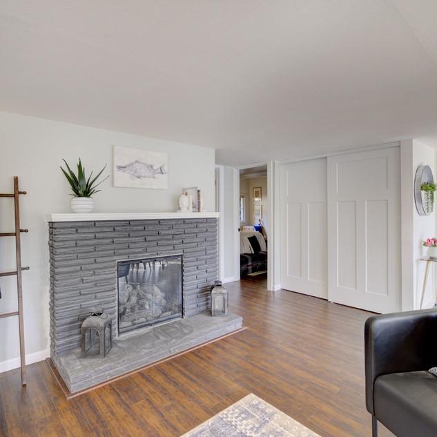 Fireplace & Living Room