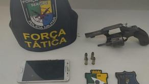 Dois suspeitos de roubo são detidos por populares em Itabaiana