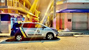 MACAMBIRA: Senhor de idade é socorrido pela polícia militar após ser dado como morto