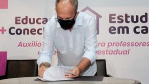 Governo de Sergipe paga o auxílio tecnológico a mais de 5.700 professores