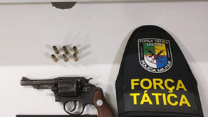 Homem é preso por porte ilegal de arma de fogo em Itabaiana