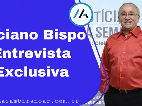 """Luciano Bispo: """"Valmir é o prefeito mais corrupto da história de Sergipe."""""""