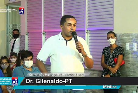 VAZA ÁUDIO II: Gilenaldo culpa partido pela desistência de sua candidatura.