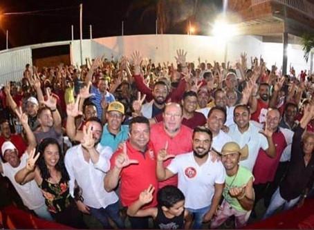 ENTRE ASPAS: Em São Domingos, PT mostra sua força em ato de filiação; Qual destino de Gordo de Inês?