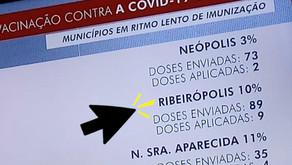 Prefeitura de Ribeirópolis atrasa vacinação da Covid para idosos e fica como 2º pior do Estado