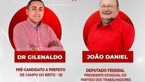 """VAZA ÁUDIO I: """"Dep. João Daniel é disléxo e desorganizado."""""""