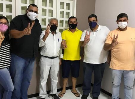 Presidente da Câmara de Vereadores de Macambira, Tatá, declara apoio a pré-candidatura de Carivaldo.