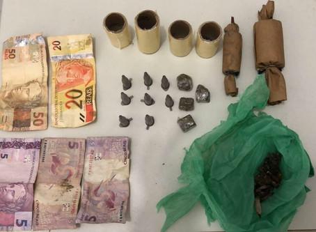 Polícia Civil desarticula local de compra e venda de droga em Campo do Brito.