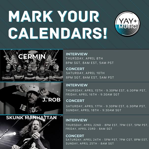 april mark your calendars music events.p