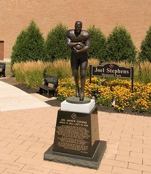 Joel Andrew Stephens Statue