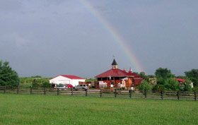 winery rainbow picture