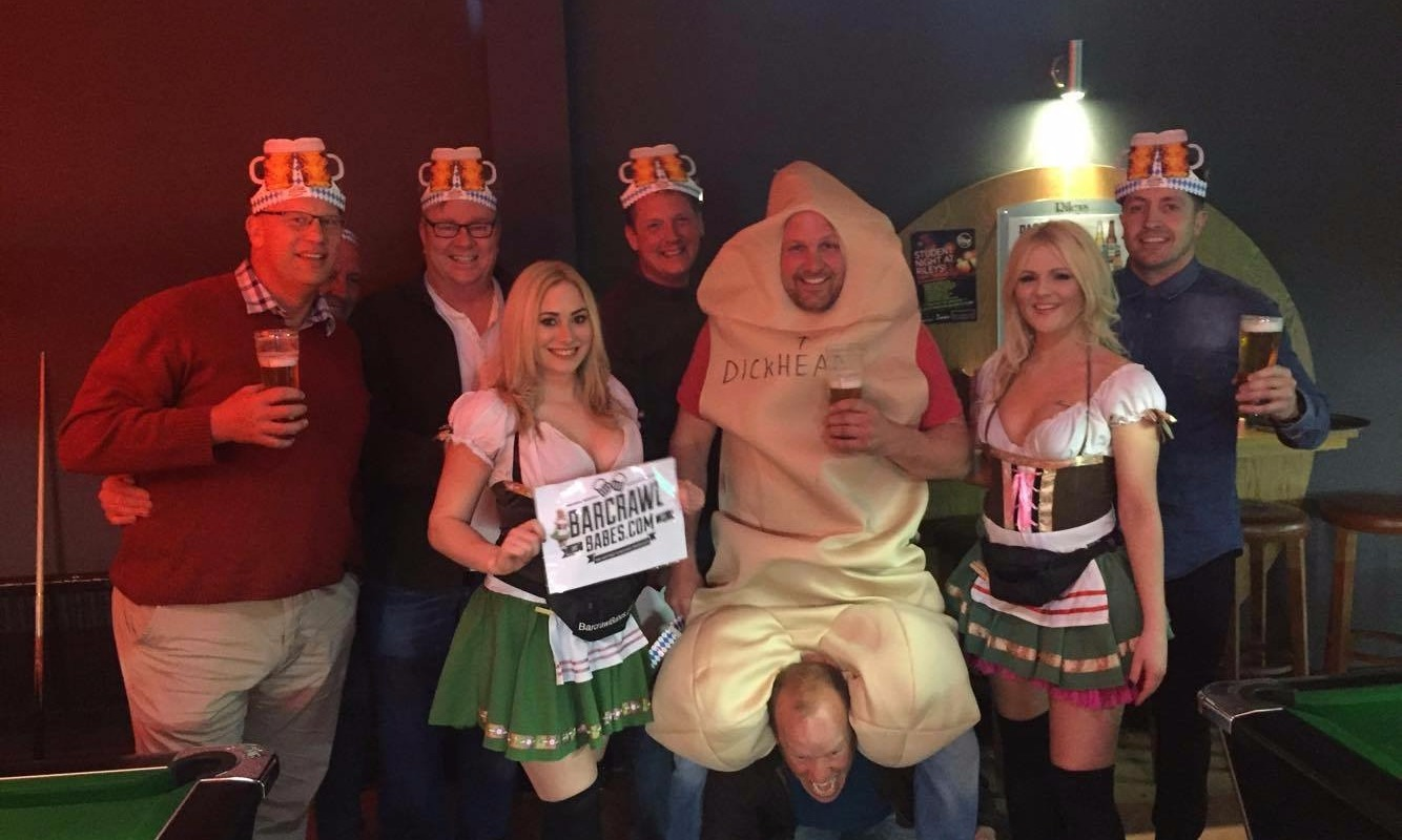 stagdo, barcrawl, beermaids