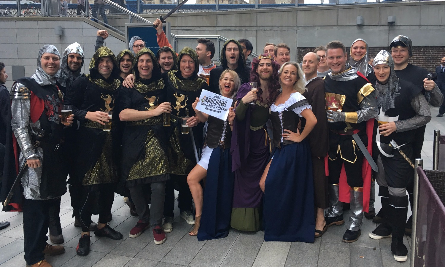 stagdo barcrawl beermaids beer wench
