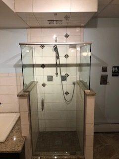Shower with Body Spray