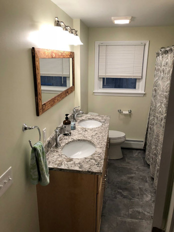 Standard Package with Upgrade to Double Undermount Vanity